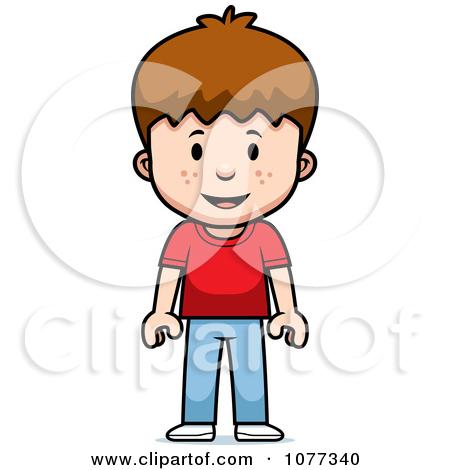 Boy Standing Clipart.