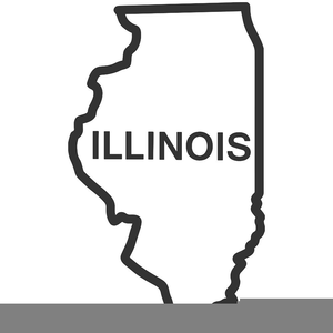 Free State Of Illinois Clipart.
