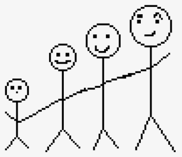 Free Stick Family Clip Art with No Background.