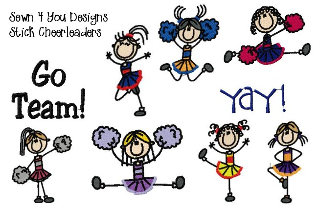 Free Stick Figure Cheerleader, Download Free Clip Art, Free Clip Art.