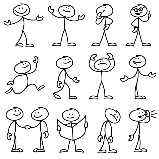 Clipart Stick Figure (91+ images in Collection) Page 1.