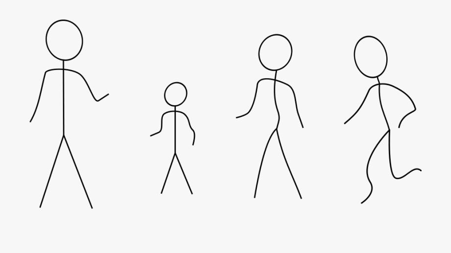 Stick Figures.