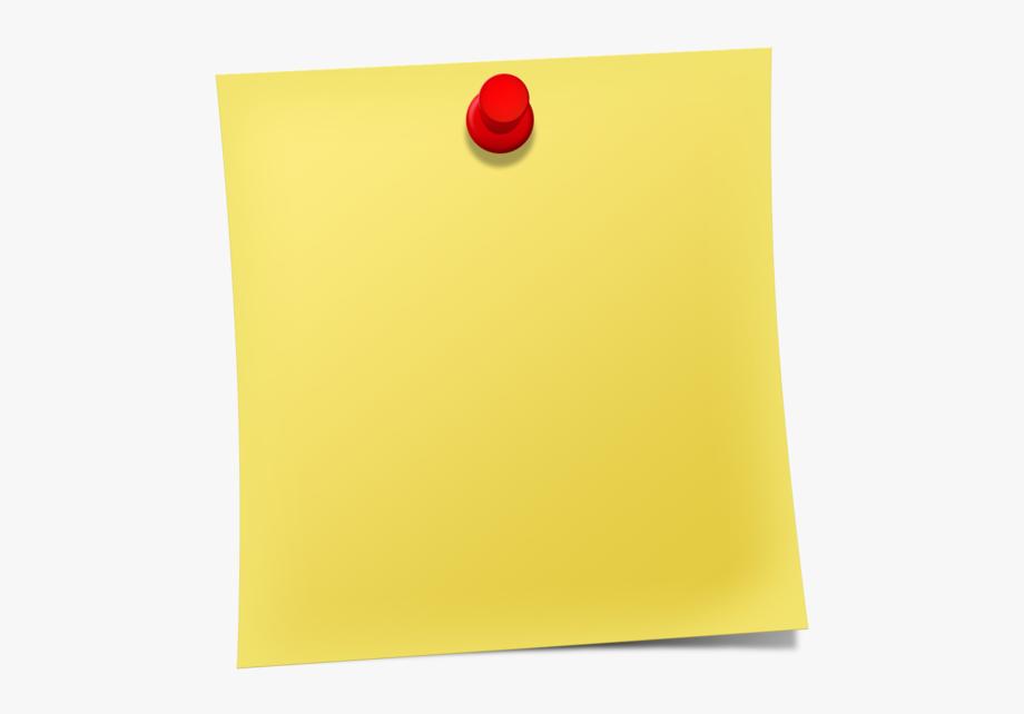 Notepad Transparent Sticky Note.