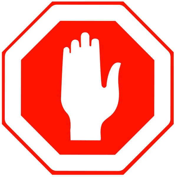 Free stop sign clip art.