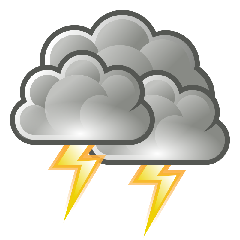 Free Clipart: Tango weather storm.