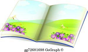 Storybook Clip Art.