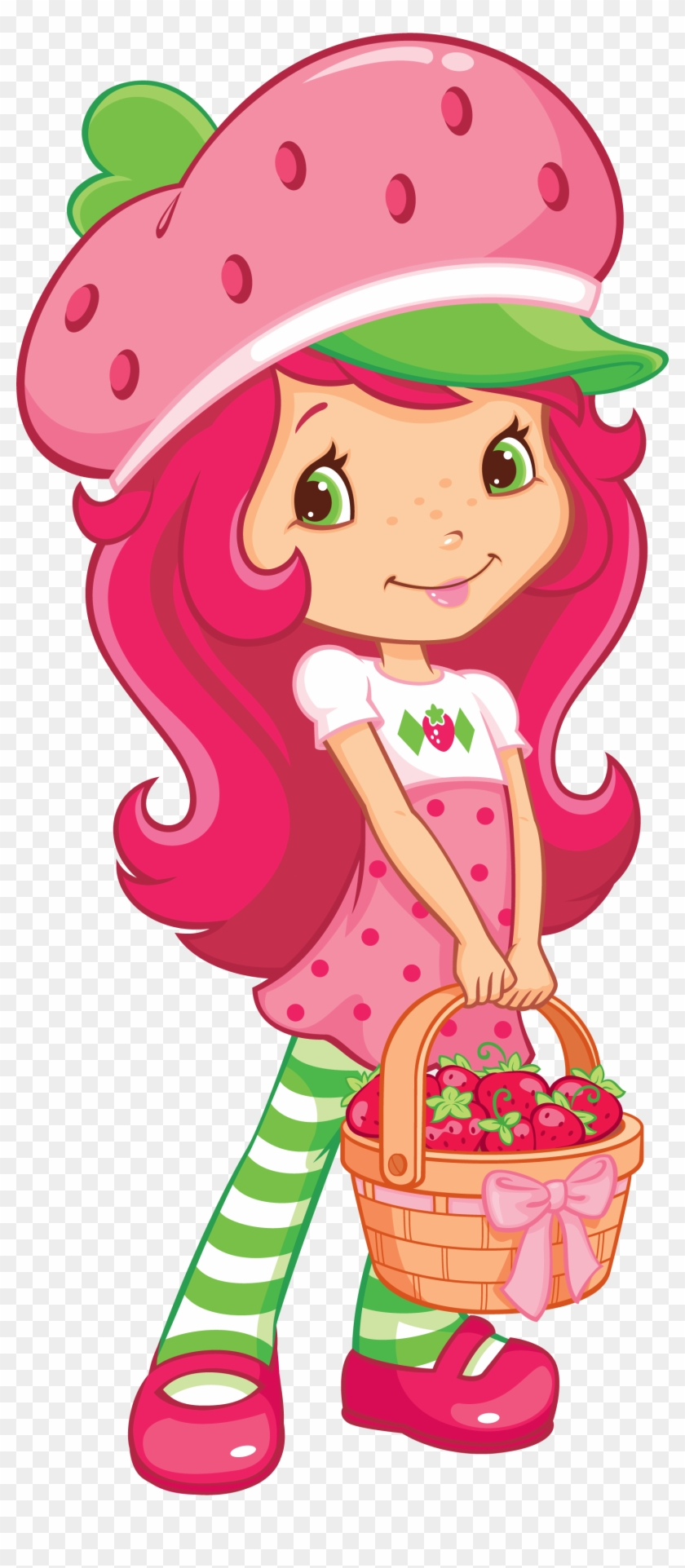 Vector Strawberry Shortcake Clipart.