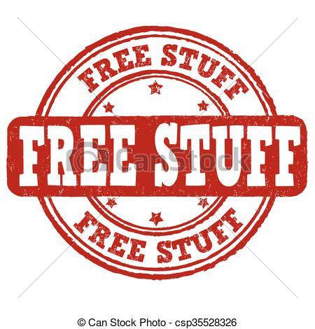Free stuff stamp.