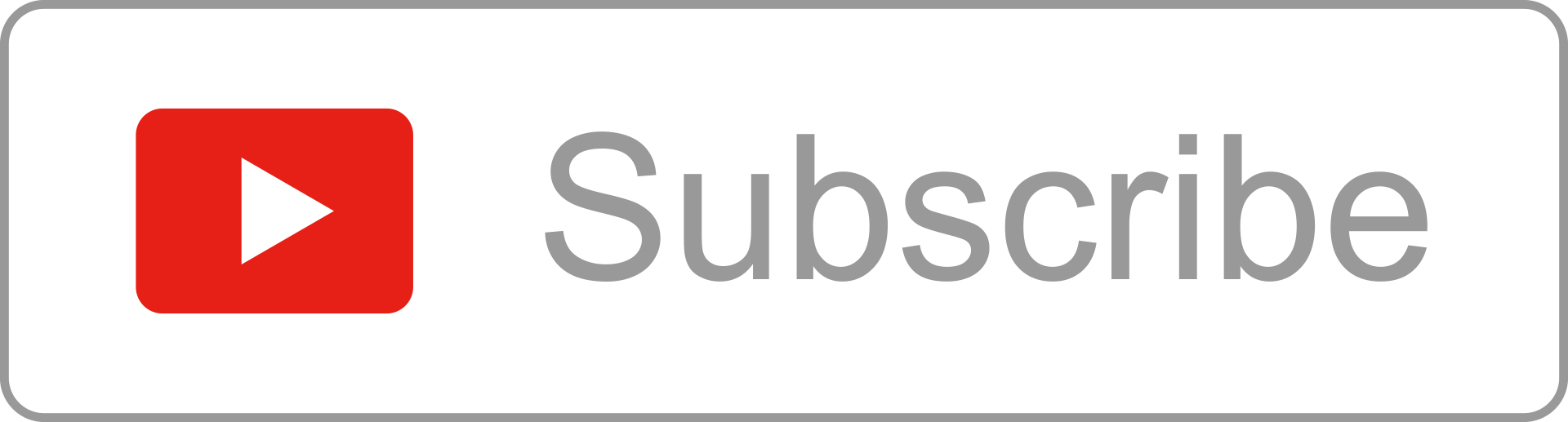 Free Outline YouTube Subscribe Button By AlfredoCreates.