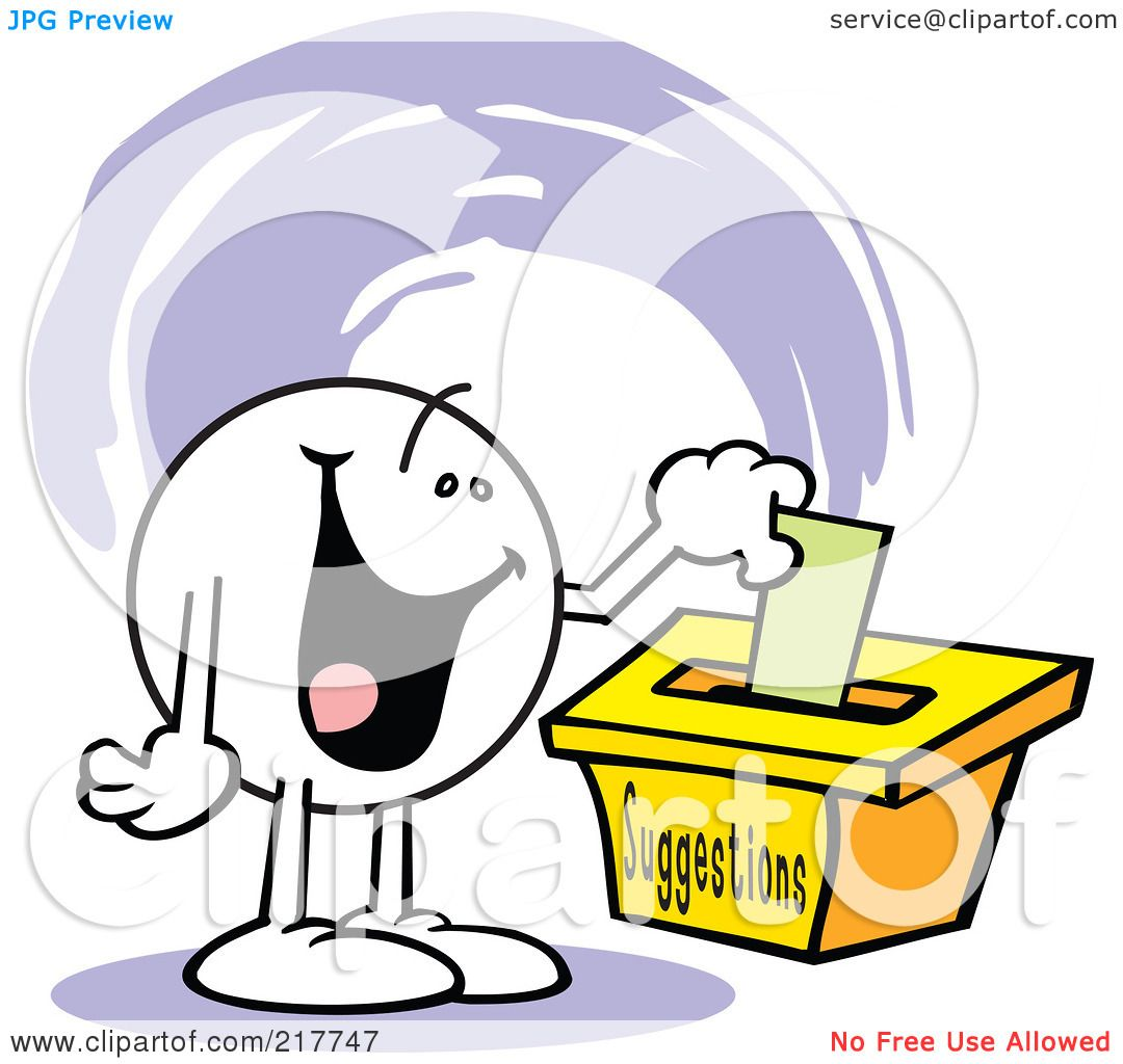 Suggestion Box Clipart.