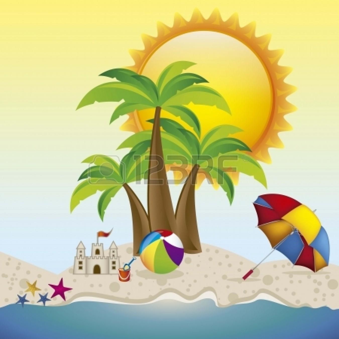 Summer Background Clipart.