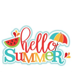 First Day Of Summer Clipart.