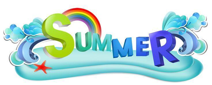 Free clipart summer fun.