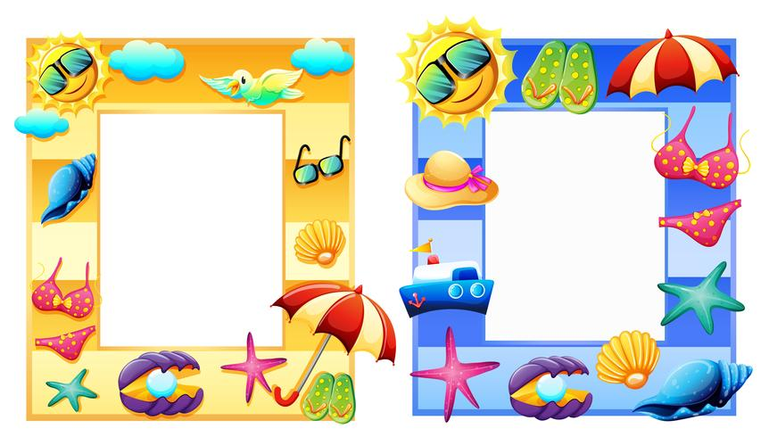 A Set Summer Element Frame.