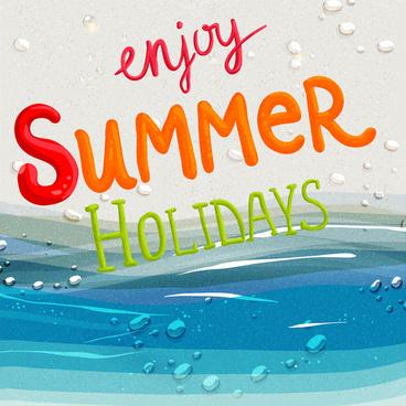 Summer holidays clip art free vector download (220,854 Free vector.