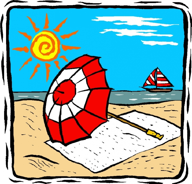 Summer holiday clipart free » Clipart Station.