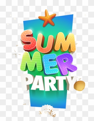 Free PNG Summer Party Clip Art Download.