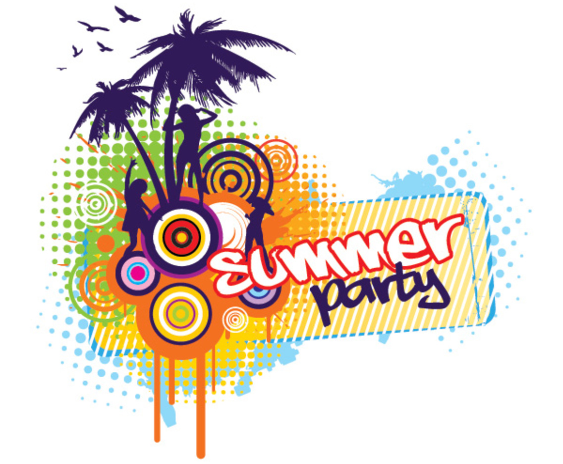 21147 Party free clipart.