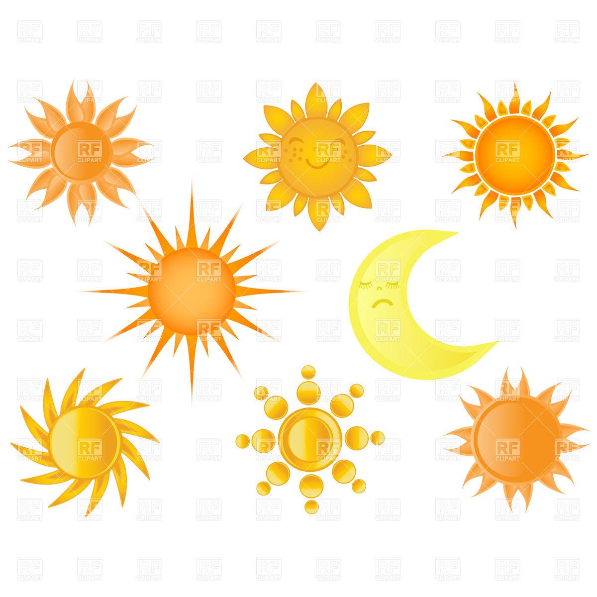 Sun And Moon Clipart Border.