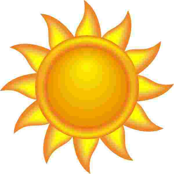 Cliparts Library: Bemused Clipart Sun Free Sun Clip Art To.
