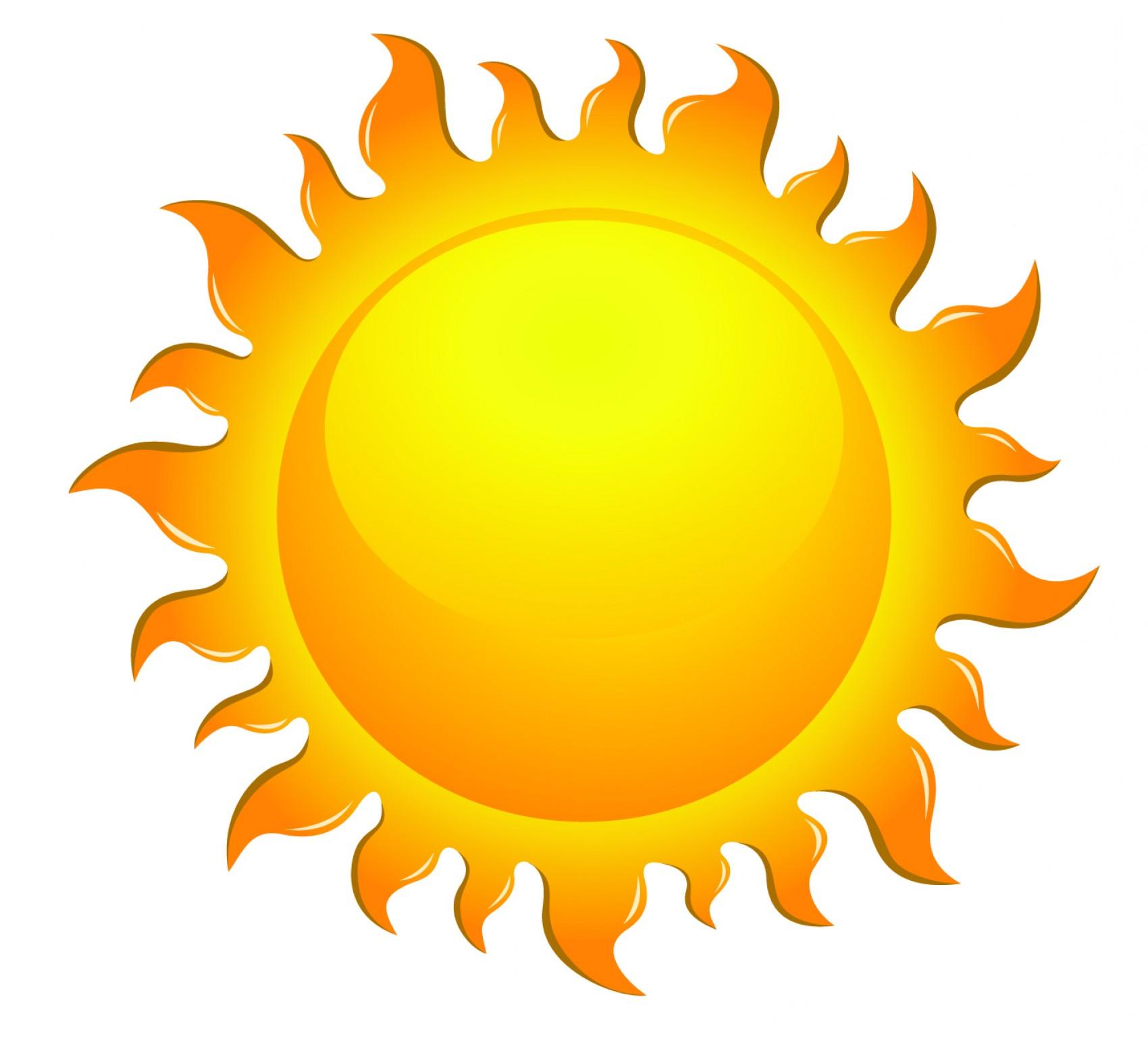 Best Rising Sun Vector Transparent Illustration.
