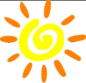 Cool Sun Vector Art.
