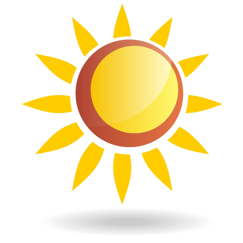 Free Vector Sun Clipart.