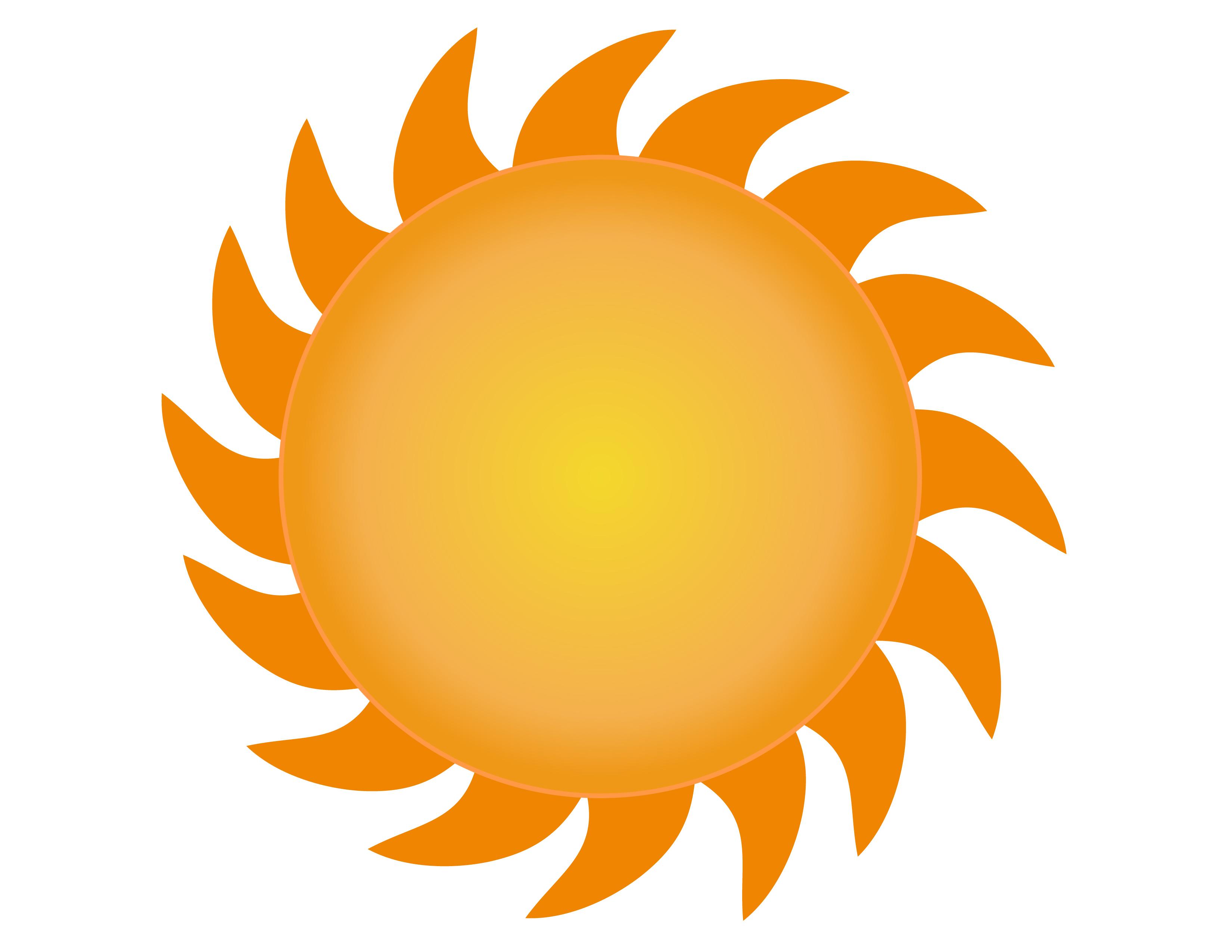 free sun vector clipart - Clipground