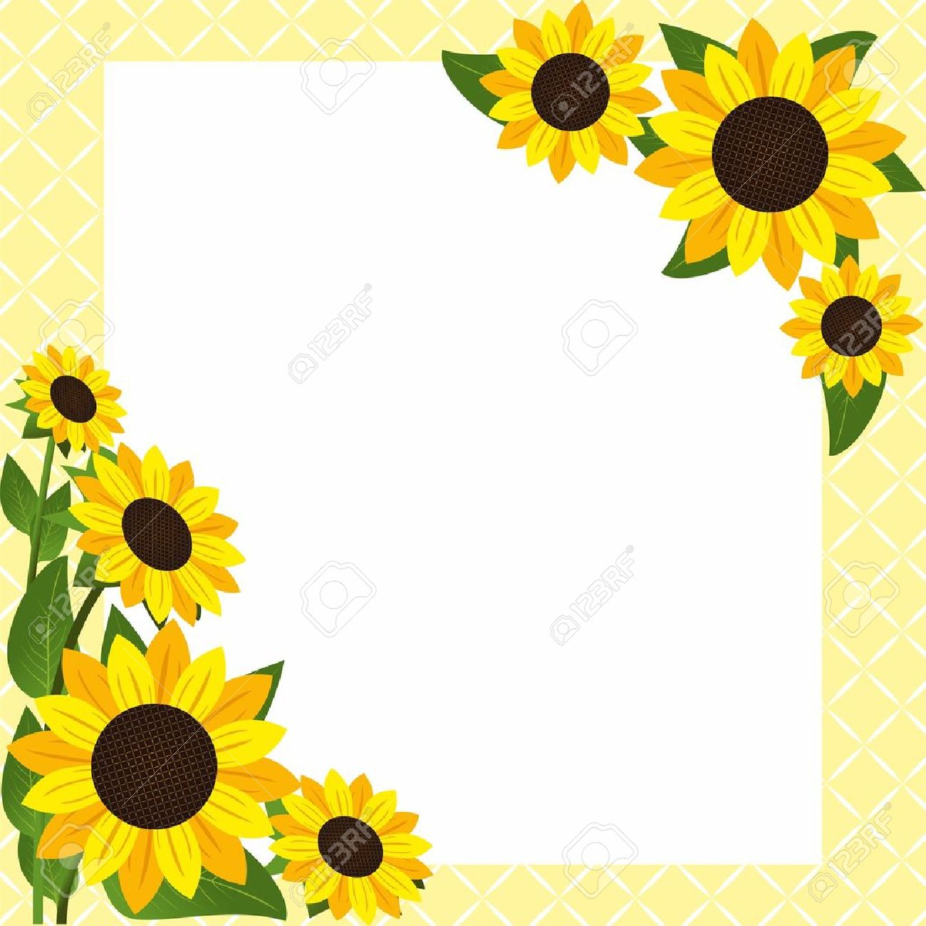 Free sunflower clipart borders 1 » Clipart Station.