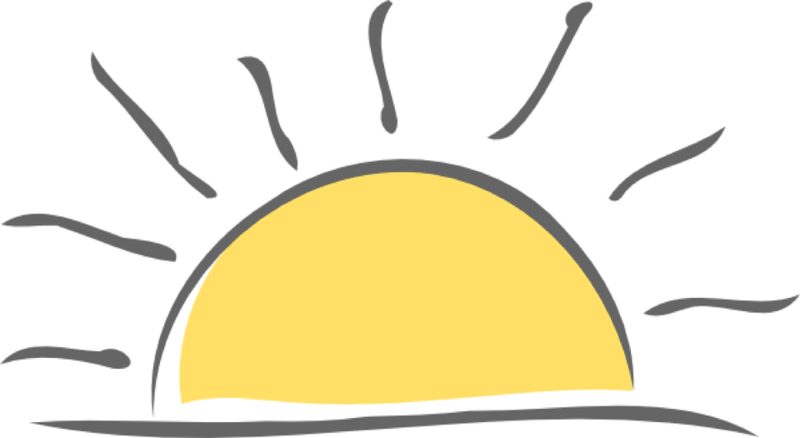 Download Free png Sunrise Clipart.