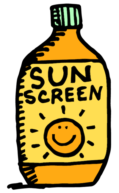 Sunscreen clipart free » Clipart Portal.