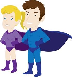 Free Superhero Clipart For Teachers.