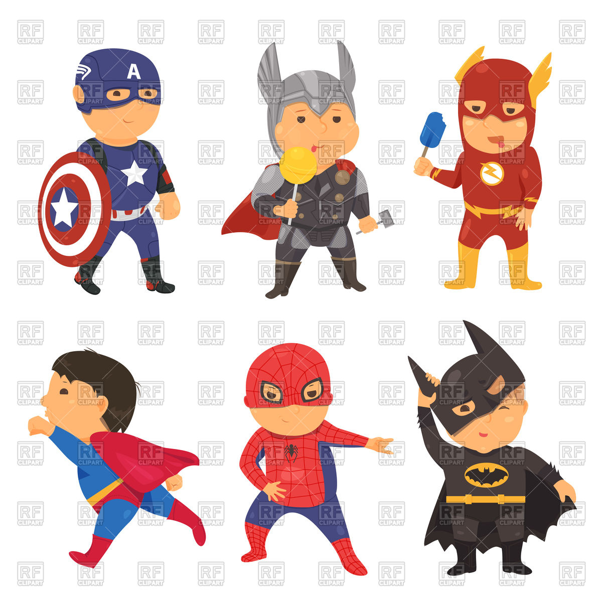Free Superhero Clipart Downloads.
