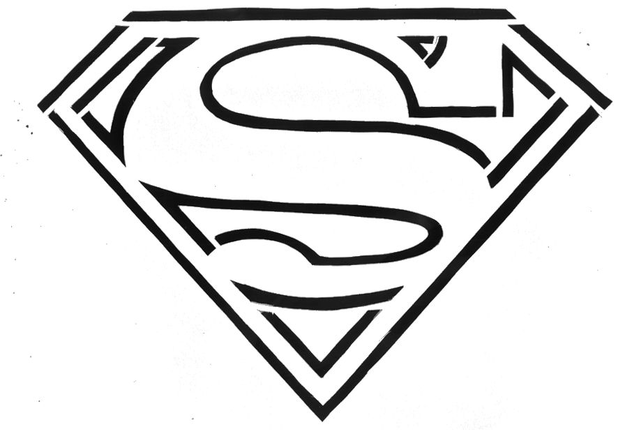 Superman Logo Clip Art Free.