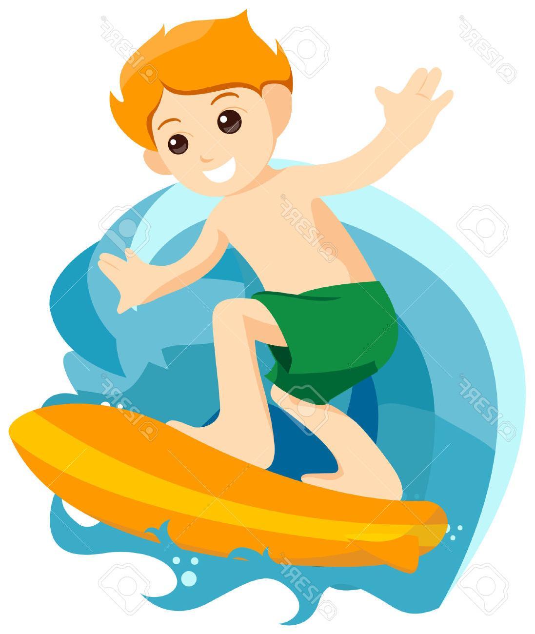 Surfer Clipart.