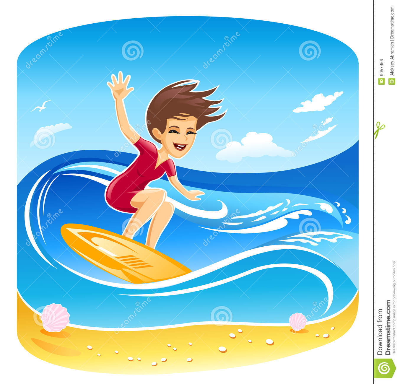 Surfing clipart free 4 » Clipart Station.
