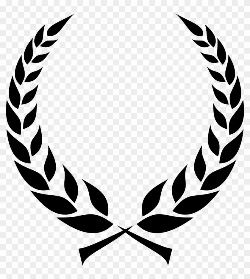 Clip Art Free Library Svg Olympics Award Greek Crown.
