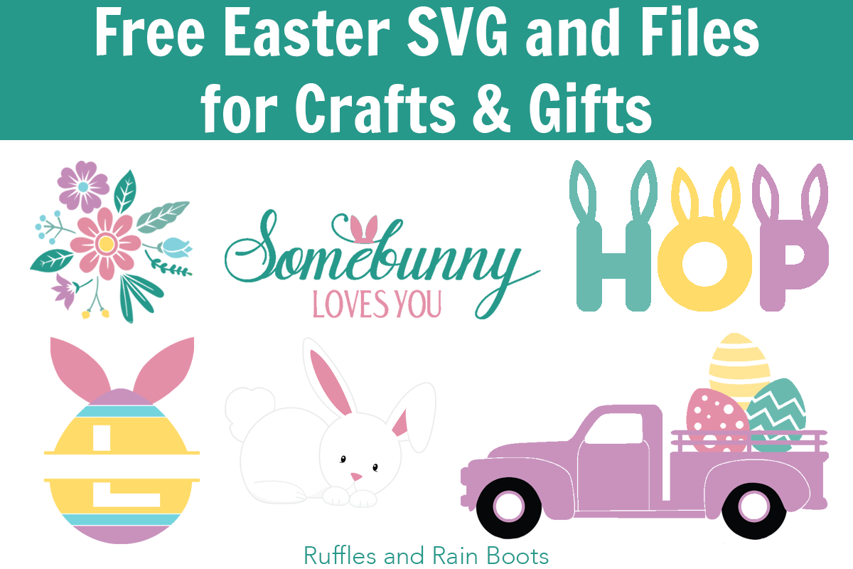 Free Easter SVG PNG and Graphics.
