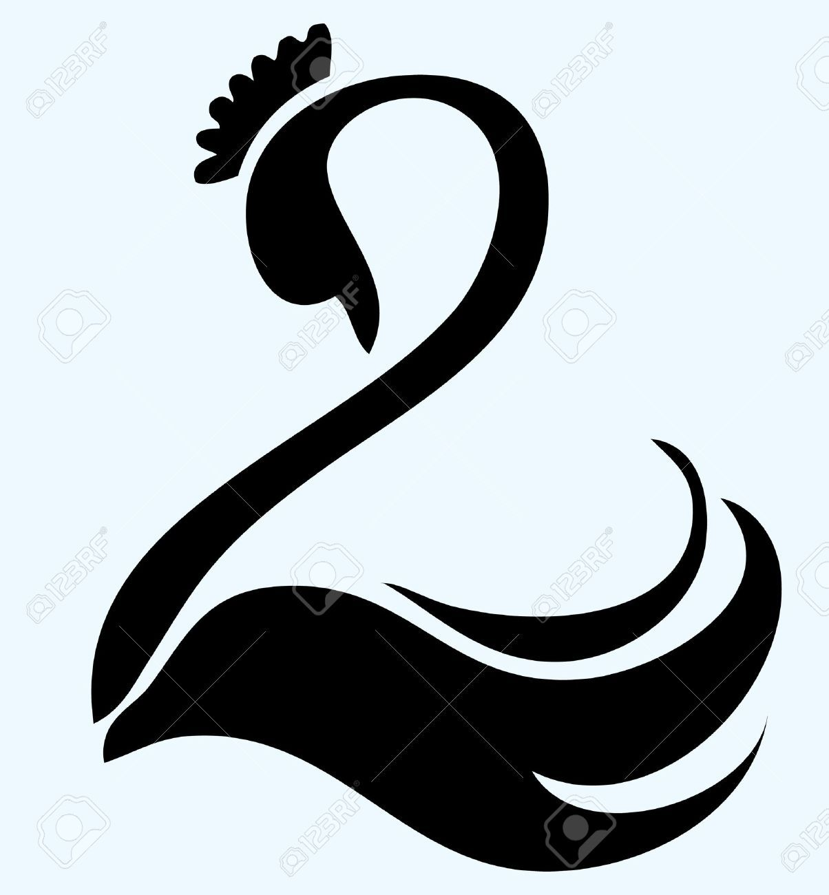 Swan Stock Vector Illustration And Royalty Free Swan Clipart.