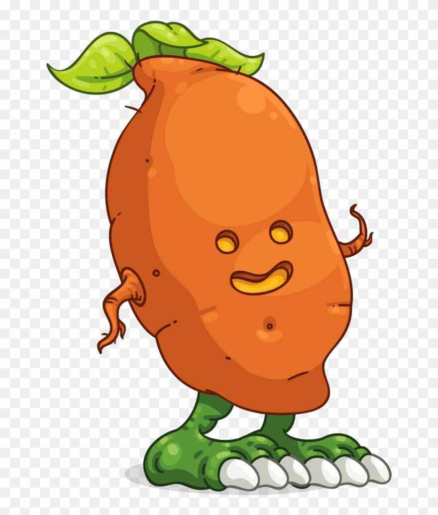 Jacksparrow\'s Sweet Potato Clipart (#2281844).