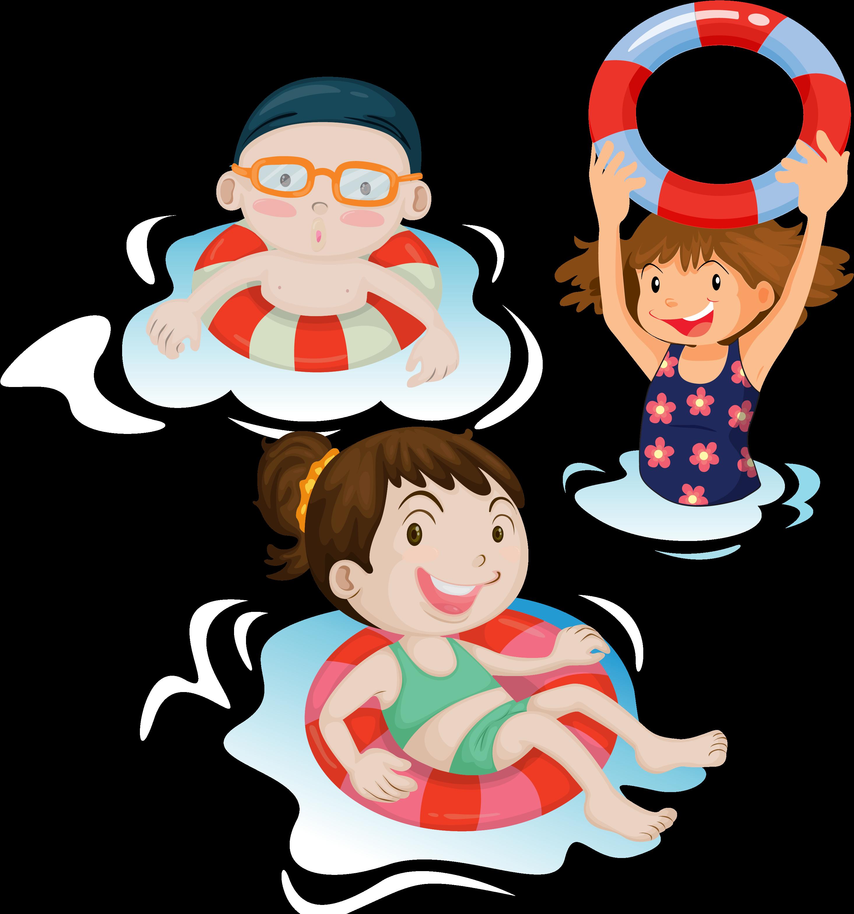 HD Child Clip Art Swim Transprent Png Free.