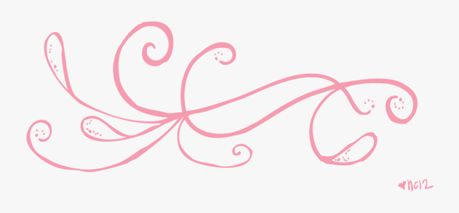 Swirly Line Clipart.