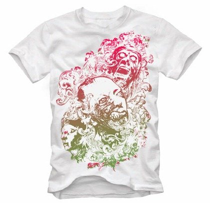 Free Floral Zombie Nightmare Free T.