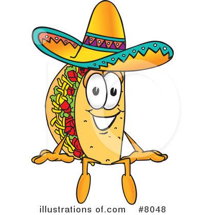 Taco Clipart #8048.