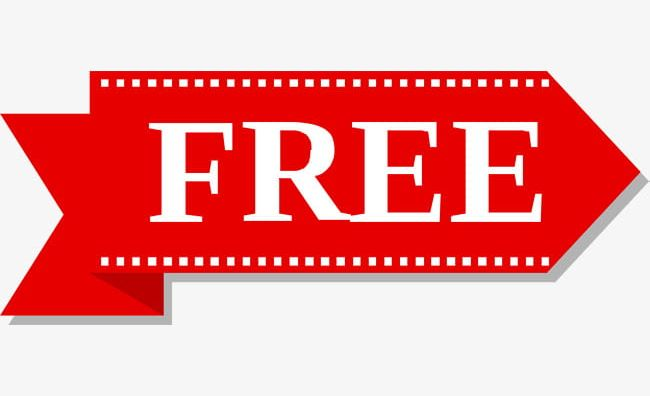 Red Free Tag PNG, Clipart, Arrow, Decorative, Decorative Pattern.