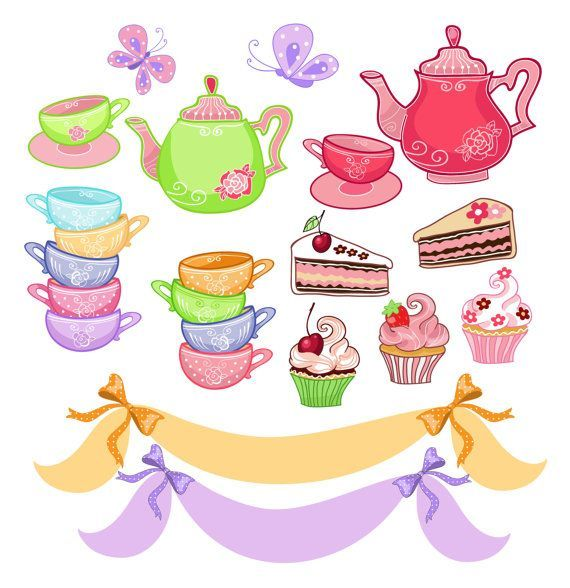 Tea party clipart free 1 » Clipart Portal.