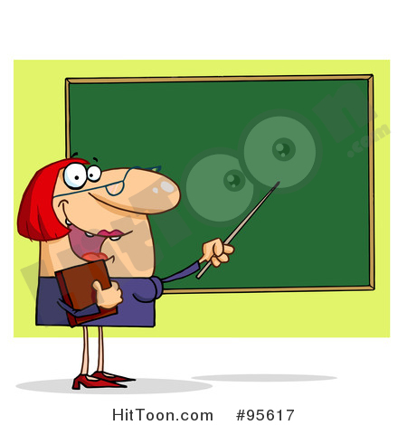 Teacher Clipart #4.