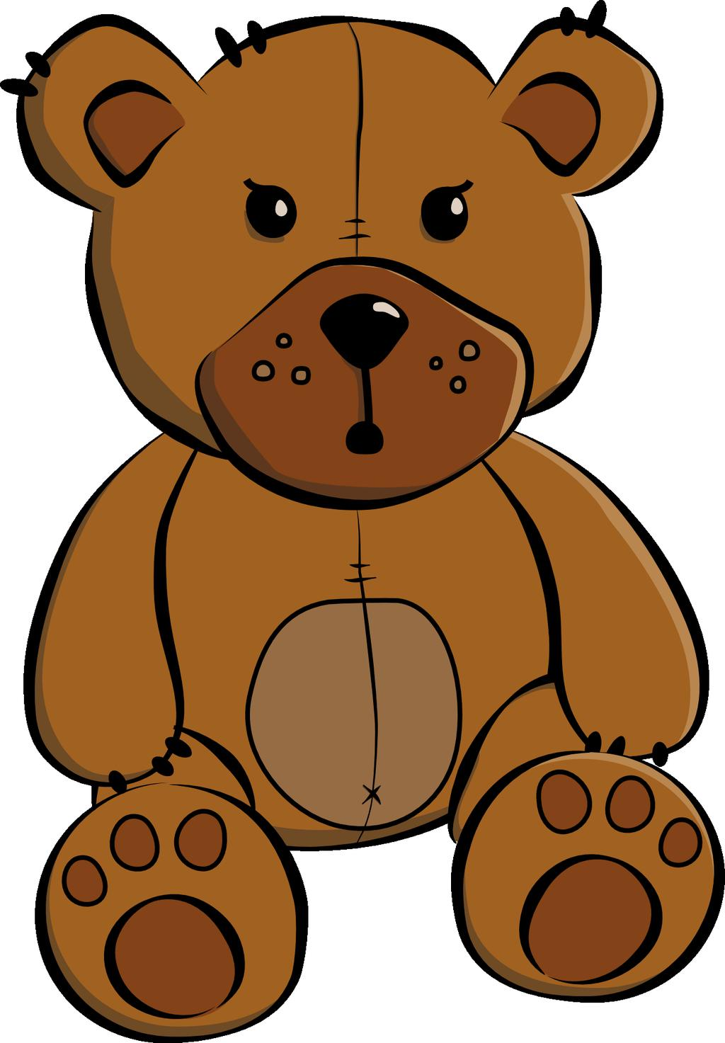 Teddy Bear Clipart Worksheet 122.
