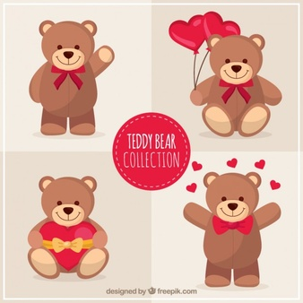 Teddy Bear Vectors, Photos and PSD files.