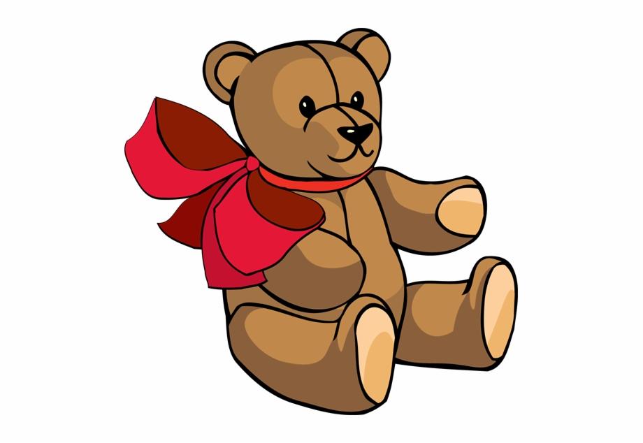 Bear Clip Teddy.